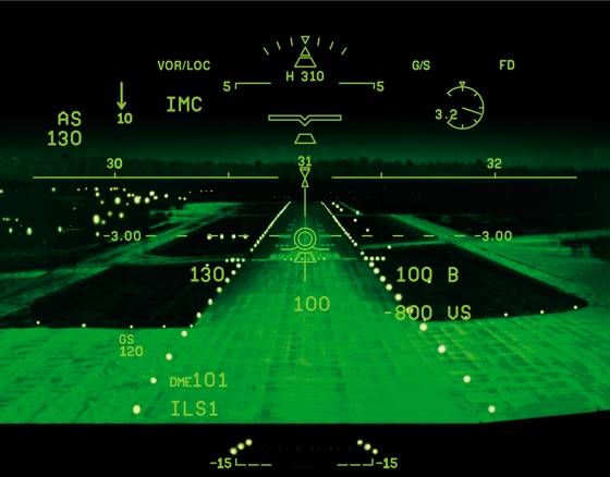 Dassault S Enhanced Vision System Evs Receives Faa
