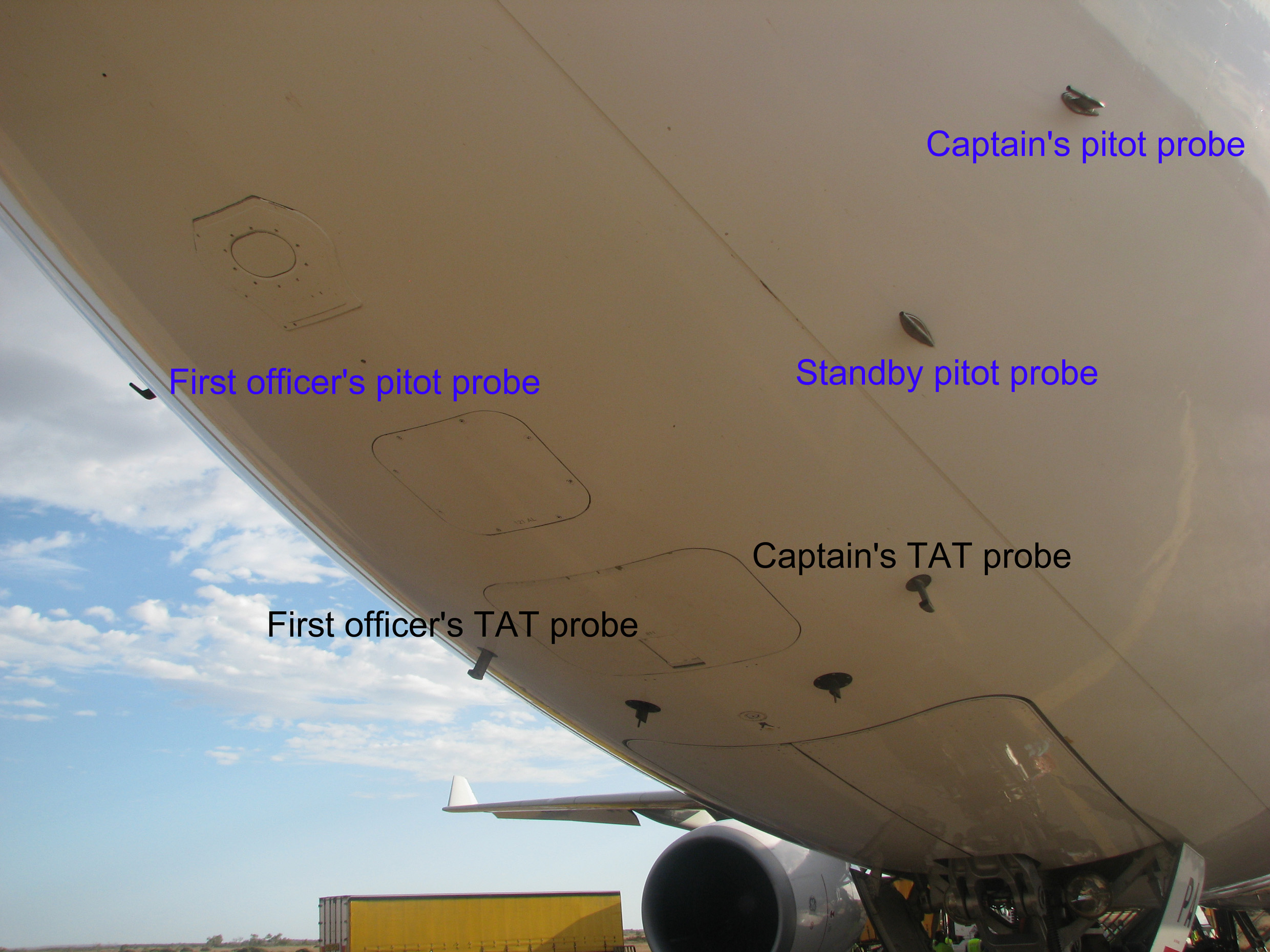 A330 Pitot Tubes And Procedures George Hatcher S Air