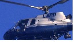 Gunfire Strikes LAPD Chopper