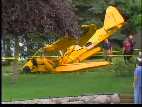 Waterford Pilot Crashes by Williams Lake