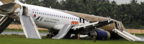 DGCA Gulf Air Landing Examined