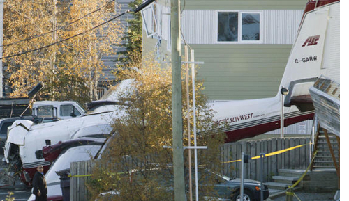 Arctic Charter Plane Crashes in Yellow Knife