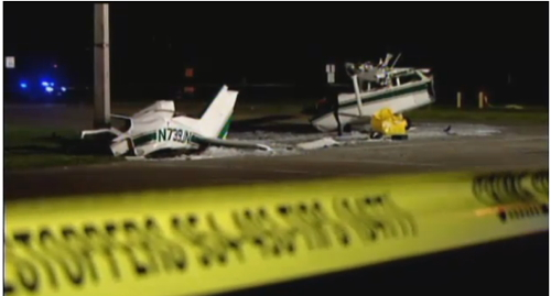 Cessna Crash Lands on Pompano Beach Street, Pilots Walk Away