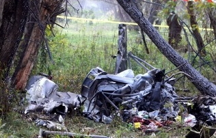 Romania FireFighting Helicopter Crashes, 5 Ukranian fatalities
