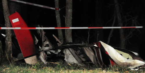 Ultralight Crash Kills Pilot, Student