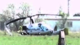 Helicopter Pilot Walks Away from Hard Landing