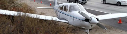 2nd Emergency Landing on CA Highway