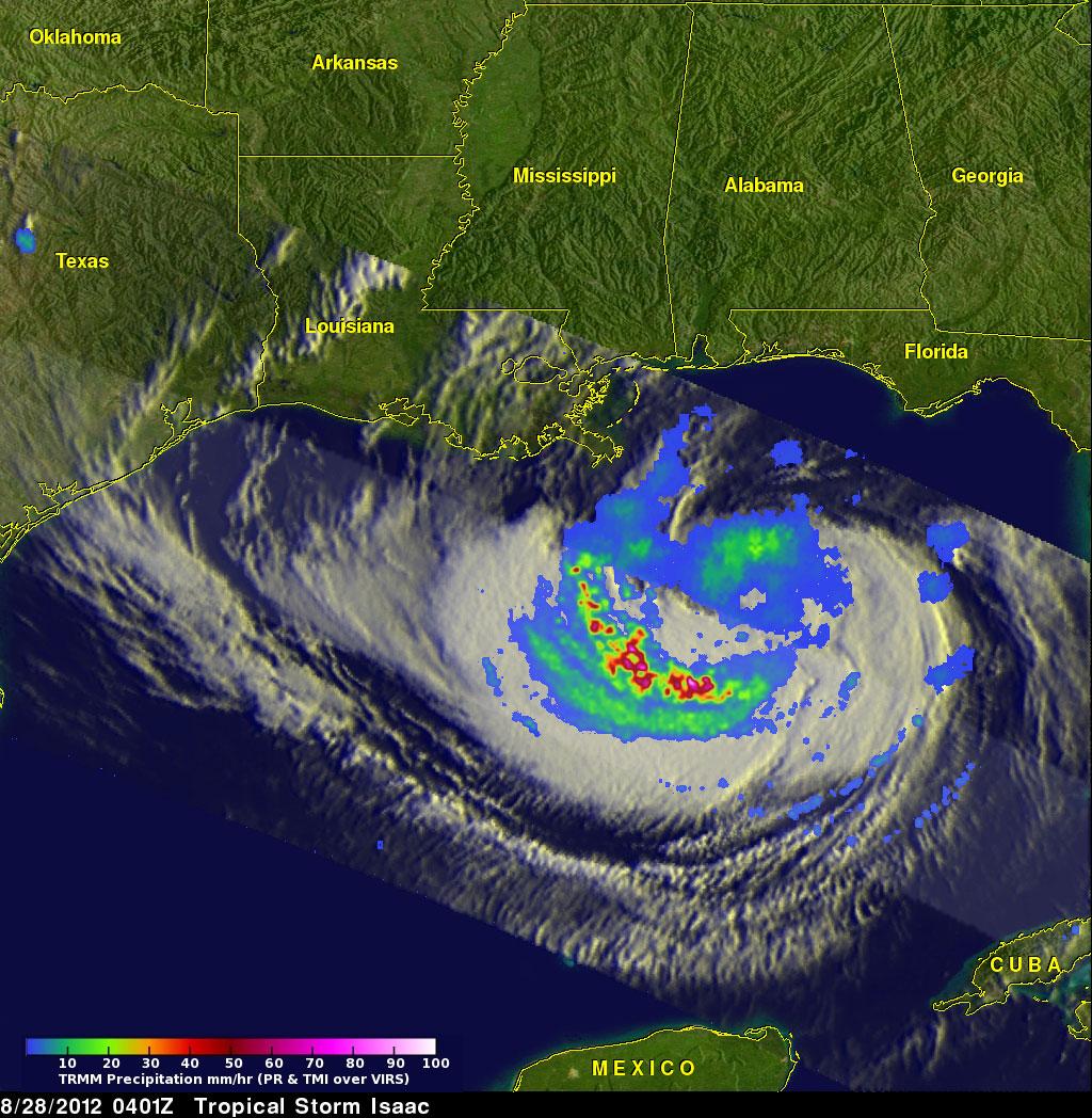 Hurricane Isaac Closings