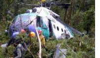 Helicopter Crashes in Indonesia with 27 aboard