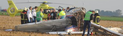 Photo Flight Ends in Collision, 2 Fatalities