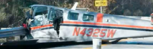 Nashua Couple's Plane Crashes Hooksett Highway