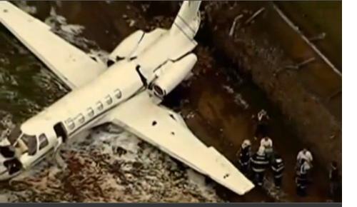 Tropic Air Táxi Emergency Landing in  São Paulo