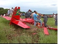 Single Engine Plane Crash in Brazil