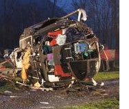 Four Survive Bell Crash in Ruthi Switzerland