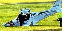 Pioneer Crash Lands in Goucestershire