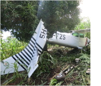 Cessna Crash in Tanzania