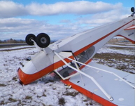 Landing Practice Turned Upside Down at Maine Airport