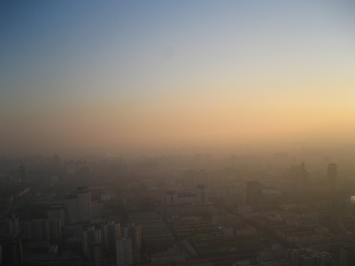 Beijing Smog Affects Air Traffic