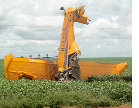 Agricultural Embraer Crashes in Brazil