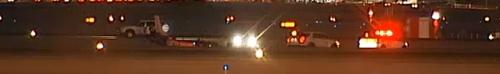Piper Hard Landing Skids Off Vegas Runway