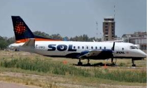 Sol Linéas Aéreas Exits Runway with Propellor, Wing Damage