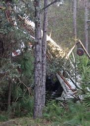 Hog Hunters Flipped in Chopper Bang-Up