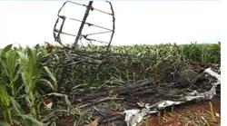 Aero Bravo 700 Agrícola Crashes in Perolândia, Goiás Brazil