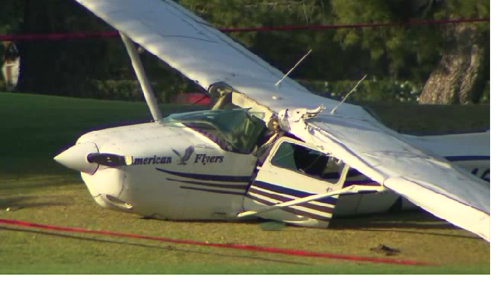 Two planes collide over Westlake Village
