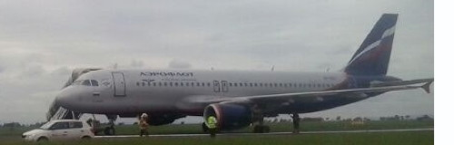 Airbus Emergency Landing in Prague