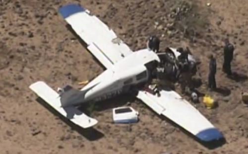Midair Collision in Phoenix Kills 4