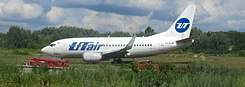 Utair Boeing Skids off Runway