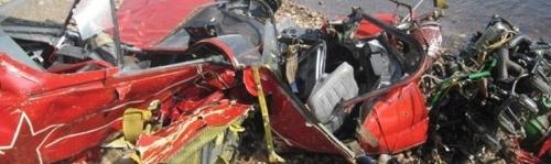 Bereg Radosti Air show  Crash