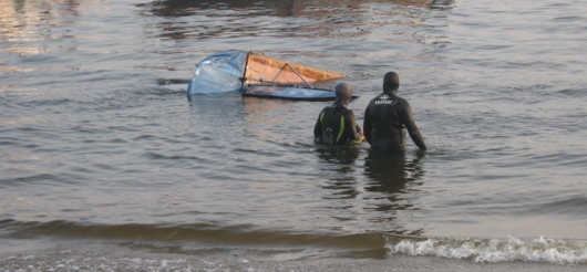 Yak-18 Emergency Landing Underwater