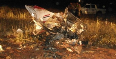 Six Fatalities in Cessna Crash in Paraguay, Four Unidentified
