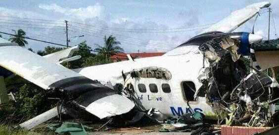 Maswings Crash