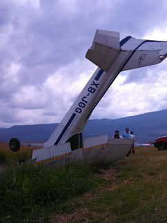 Student Pilot Crash in Jalisco Mexico