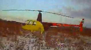 Robinson Emergency Landing in Russia