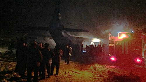 Russian Cargo Crash