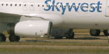 SkyWest Plane's Nose Gear Collapses on Landing in San Antonio