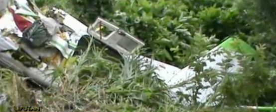 Turboprop Crash in Indonesia, 2 Fatalities, 5 Injured
