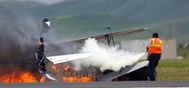 Biplane Crashed during Thunder Over Solano Air Show in California; Pilot Killed