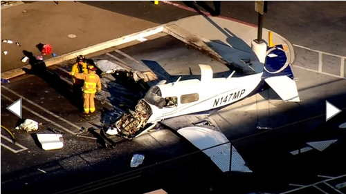 Parking Lot Crash-Landing in Kearny Mesa