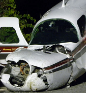 Mooney 20K Crashes at a Highway in Ontario; Pilot Survives