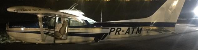 Minas Gerais Cessna Belly Landing