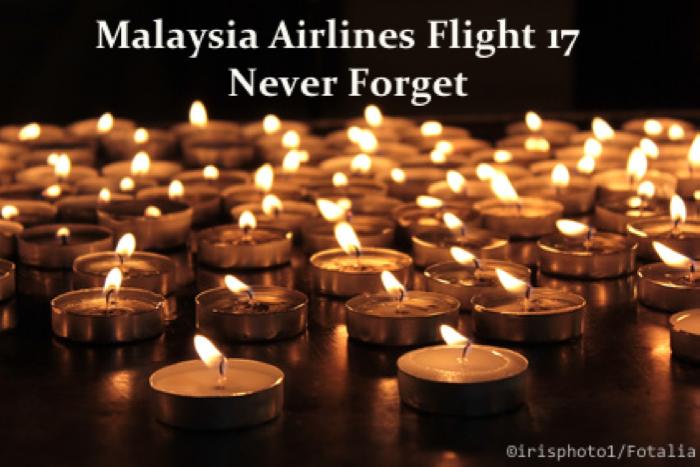 MH17 Memorial Service in Kuala Lumpur