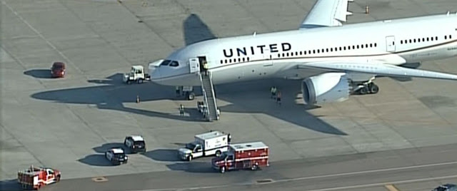 United Airlines Plane Rejects Take-off in California due to Airspeed Issues