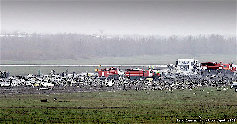 Update: Rostov-On-Don: FlyDubai Crashes in Fireball, Sixty-One Lives Lost