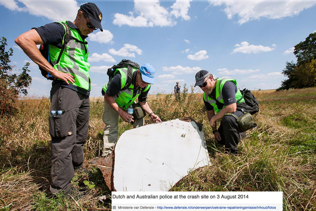 MH17: Malaysian Airlines Boeing 777 Still Unresolved